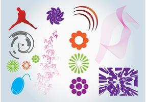 Vector grafische ontwerpelementen