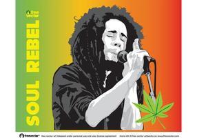 Bob Marley-Vektor