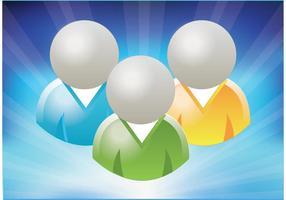 Ícones grátis do MSN
