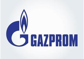 Logo gazprom vecteur