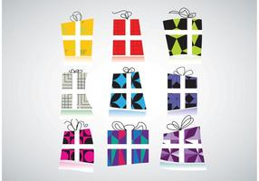 Gratis Gift Packs Vectors