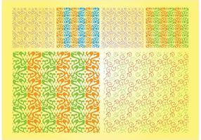 Patrones orgánicos del vector