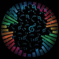 Music-notes-vector-background
