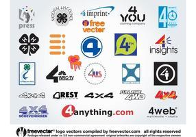 4 logotyper