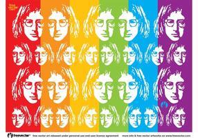 John Lennon Vector Art