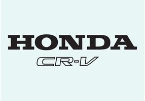 Honda cr-v vector