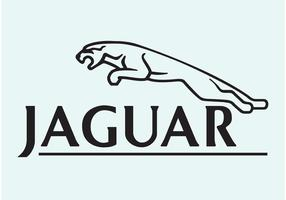 Logotipo del vector del jaguar