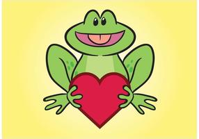 Frog Comic Character