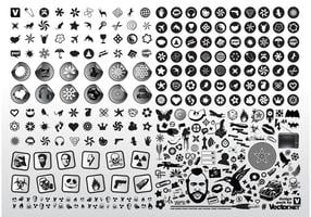 Black-white-vector-icons