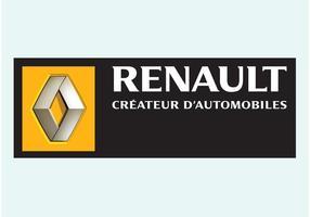 Logotipo do vetor Renault