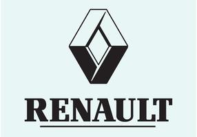 Tipo de logotipo de vetor Renault
