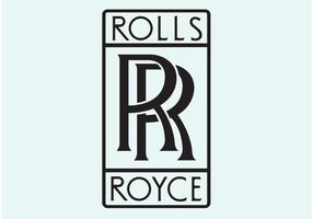 Rolls royce vector logo