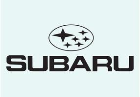 Subaru Logo Type vector