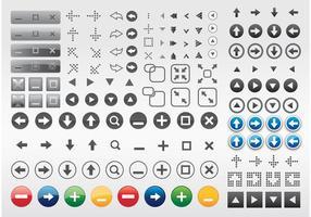 Computer Buttons Arrows