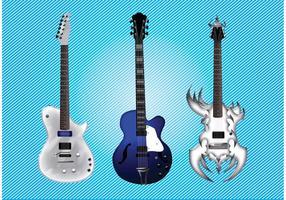 Electric Guitar Vectors