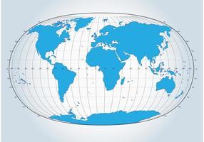 Globe vectoriel