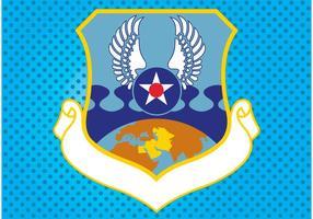 Land emblem vektor