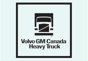 Logo du camion volvo