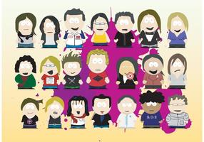 Caricaturas de South Park