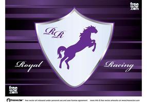 Racing emblem vektor