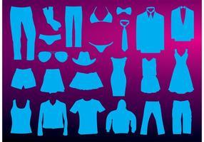 Vectores de la ropa
