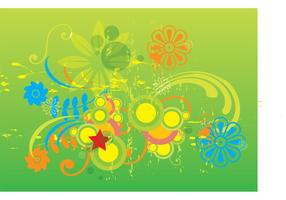 Grunge Spring Graphics