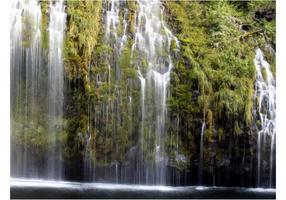Vector illustratie van de waterval