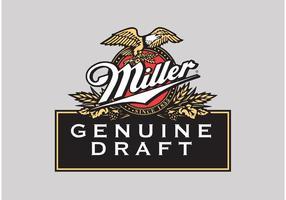 Logo del vector de Miller