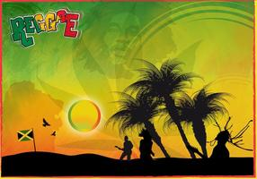 Reggae-vector-graphics