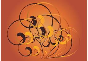 Retro-swirls-vector