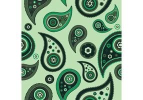 Paisley Vector Pattern