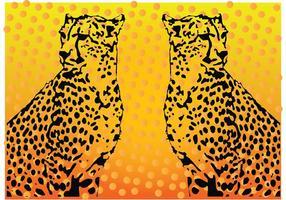 Gráficos vectoriales de leopardo