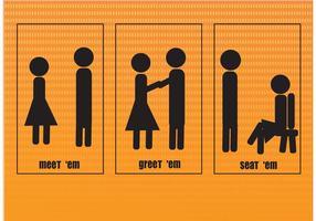 Menschen Vector Icons