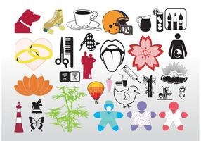 Cool vektor clip art pack