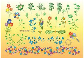 Beautiful-flowers-vector-illustrations