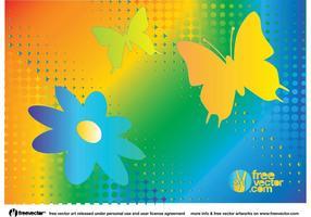 Rainbow Nature Vector Graphics