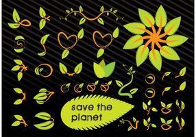 Spara planetens vektorgrafik