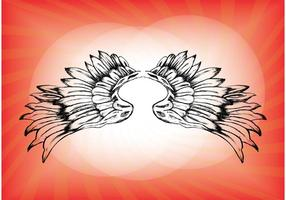Free-wings-vector-download