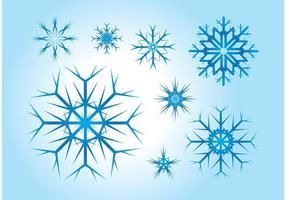 Vectores libres del copo de nieve