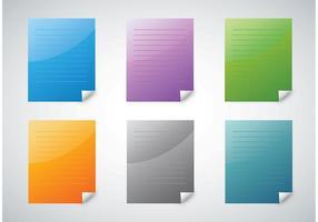 Colorful Paper Vectors