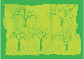 Gratis träd vektorgrafik