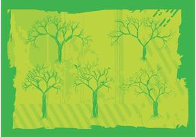 Freie Bäume Vektorgrafiken