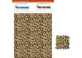 Modèle d'impression léopard