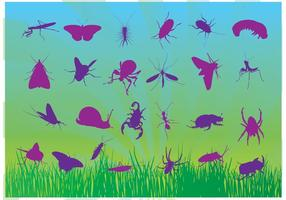 Free-insects-vectors