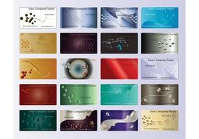 Company Cards Templates