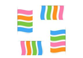 Modern-ribbons-vector-set