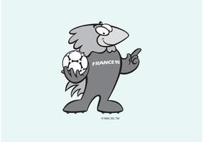 1998 FIFA World Cup Mascot vector