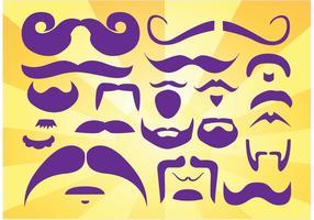Beards Moustaches Vectors