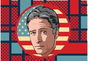 Vecteur Jon Stewart
