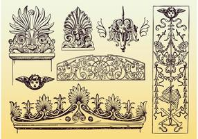 Antique Decoration Vectors